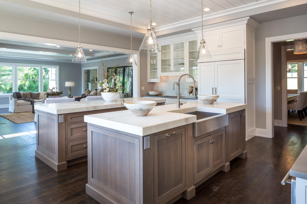 Shawna feeley interiors kitchens for Double island kitchen